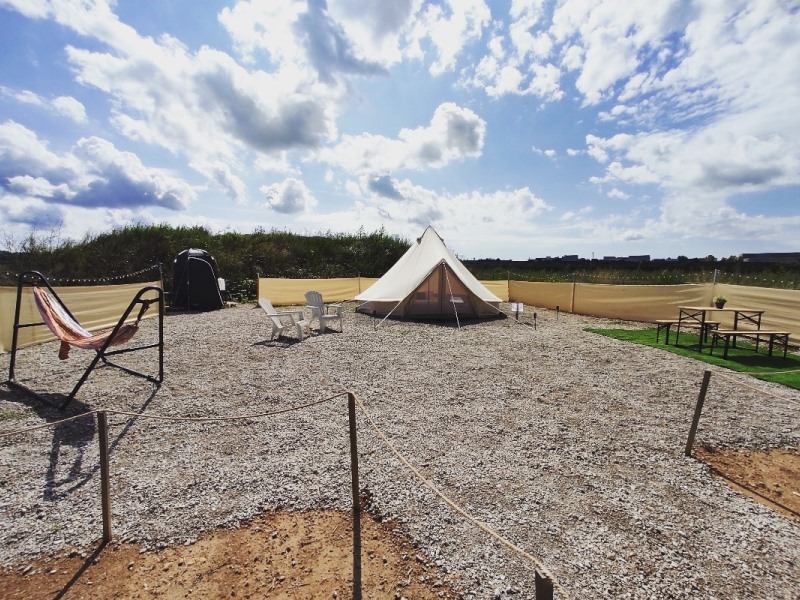 Nit de Glamping entre Vinyes Can Batlle Experience