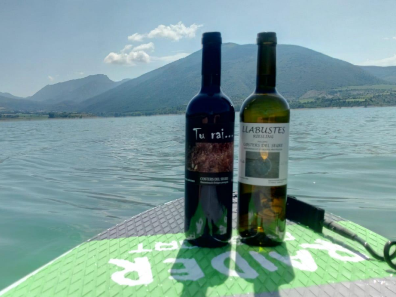 Paddle Surf & Vins a l'embassament de Sant Antoni