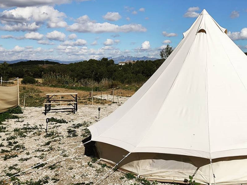Nit de Glamping entre Vinyes Can Batlle Experience (2)